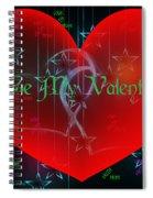 Valentine 4 Spiral Notebook