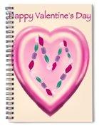 Valentine Gem Spiral Notebook