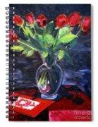 Valentine Roses Spiral Notebook