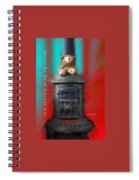 Valentine Shall We Warm Things Up Spiral Notebook