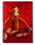 Valentine Spiral Notebook