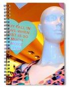 Valentine Vixen Spiral Notebook