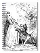 Valentines Day, 1855 Spiral Notebook