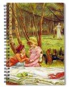 Valentines Day, 1883 Spiral Notebook