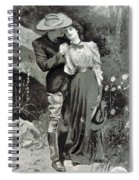 Valentines Day, 1898 Spiral Notebook