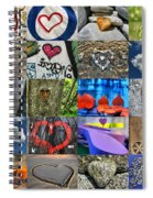Valentine's Day - Hearts For Sale Spiral Notebook