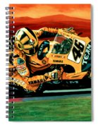 Valentino Rossi The Doctor Spiral Notebook