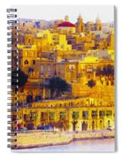 Valletta Capital Of Malta Spiral Notebook