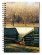 Valley Forge Cabins Spiral Notebook