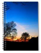 Valley Forge Evening  Spiral Notebook