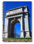 Valley Forge Glory Spiral Notebook