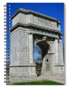 Valley Forge National Memorial Arch Spiral Notebook