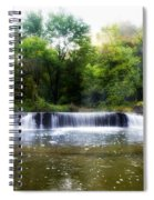 Valley Forge Pa - Valley Creek Waterfall  Spiral Notebook