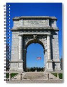 Valley Forge Park Memorial Arch Spiral Notebook