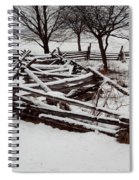 Valley Forge Snow Spiral Notebook
