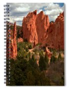Valley In The Sun Spiral Notebook