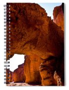 Valley Of Fire Arch Spiral Notebook