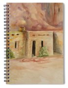 Valley Of Fire Cabins Spiral Notebook