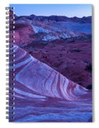 Valley Of Fire - Fire Wave 2 - Nevada Spiral Notebook
