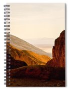 Valley Of Fire Morning Sun Spiral Notebook