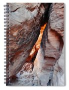 Valley Of Fire Mouse's Tank Canyon Spiral Notebook