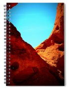 Valley Of Fire Nevada Desert Sand People Spiral Notebook