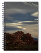 Valley Of Fire Spiral Notebook