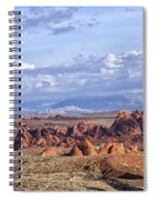 Valley Of Fire Vista Spiral Notebook