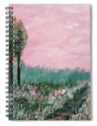 Valley Of Flowers Spiral Notebook