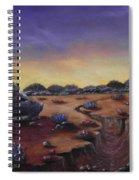 Valley Of The Hedgehogs Spiral Notebook