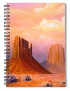Valley Of The Rocks Spiral Notebook