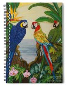 Valley Of The Wings Hand Embroidery Spiral Notebook