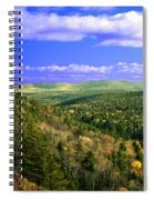Valley Of Trees Spiral Notebook