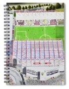 Valley Parade Stadia Art - Bradford City Fc Spiral Notebook