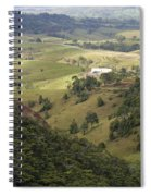 Valley View Of  Atherton Tableland Spiral Notebook
