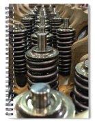 Valve Springs Spiral Notebook
