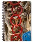 Valves Valves And More Valves Spiral Notebook