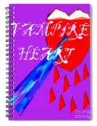Vampire Heart Spiral Notebook