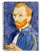 Van Gogh On Van Gogh Spiral Notebook