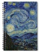 Van Gogh The Starry Night Spiral Notebook