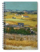Van Gogh Wheatfield 1888 Spiral Notebook