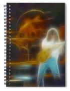 Van Halen-91-ge7a-fractal Spiral Notebook