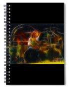 Van Halen-alex-93-gc5-fractal Spiral Notebook