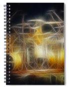 Van Halen-ou812-alex-f24a-fractal Spiral Notebook