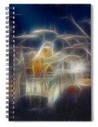 Van Halen-ou812-d32a-fractal Spiral Notebook