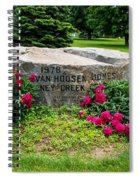 Van Hoosen Jones Stoney Creek Entrance Stone Spiral Notebook