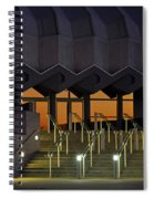 Van Wezel Performimg Arts Hall Stage Door Sarasota Fl Usa Spiral Notebook
