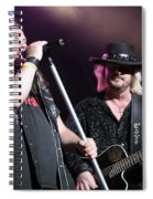 Van Zant - Johnny With Donnie Spiral Notebook