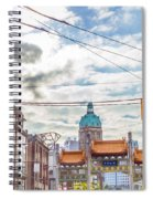 Vancouver China Town Spiral Notebook