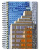 Vancouver Reflections No 1 Spiral Notebook